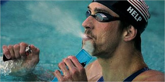 What does vaping and smoking do to athletes?