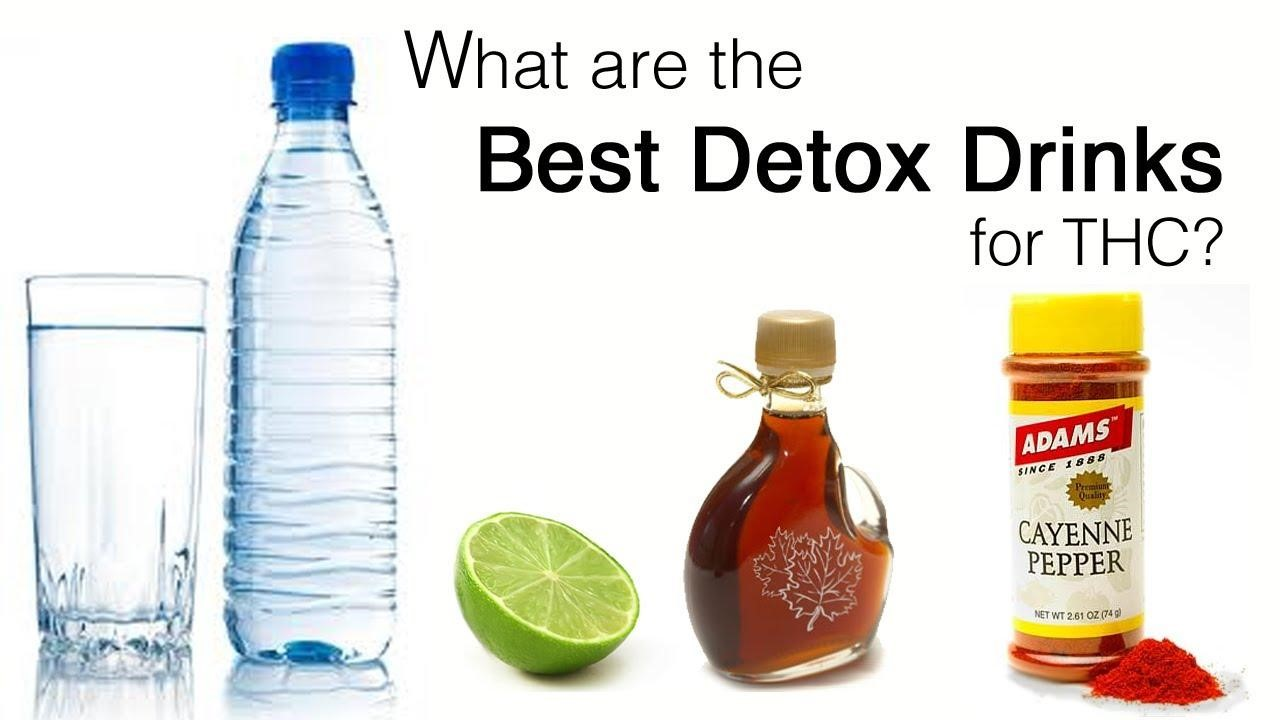 Try The Best Detox Drinks For THC