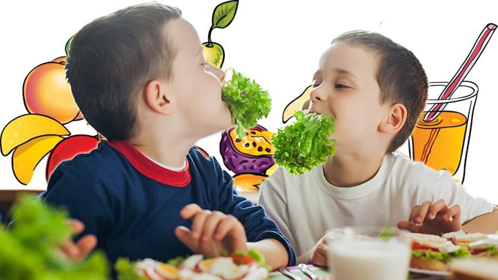 Nutritious And Healthy Foods For Children